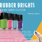 Illamasqua Rubber Nails Varnish Rubber Brights Spring 2013