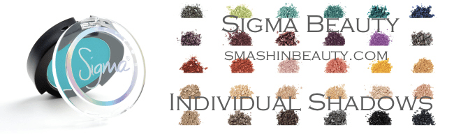 Sigma Beauty Individual Shadows Sigma Beauty coupon codes 2013