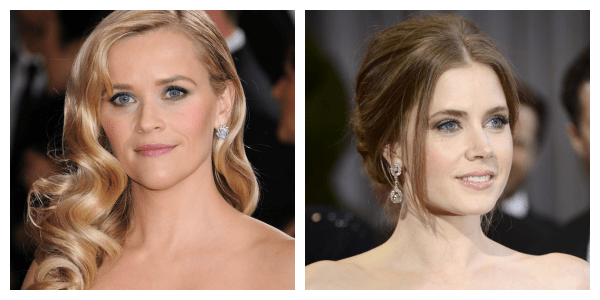 Oscars 2013 Red Carpet Top Pick Beauty Best waves Reese Witherspoon Best Up do Amy Adams