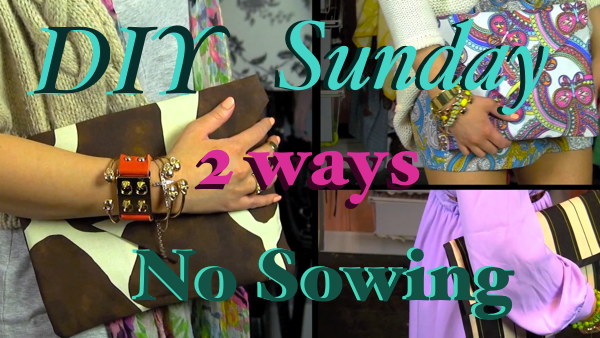 DIY No Sew Clutch Purse Envelope Purse DIY Sunday smashinbeauty