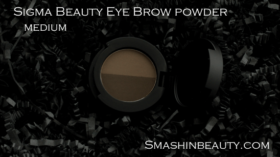 Makeup Review Sigma Beauty Eye Brow Powder Medium Swatches