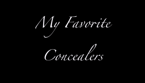My favorite Concealers that work