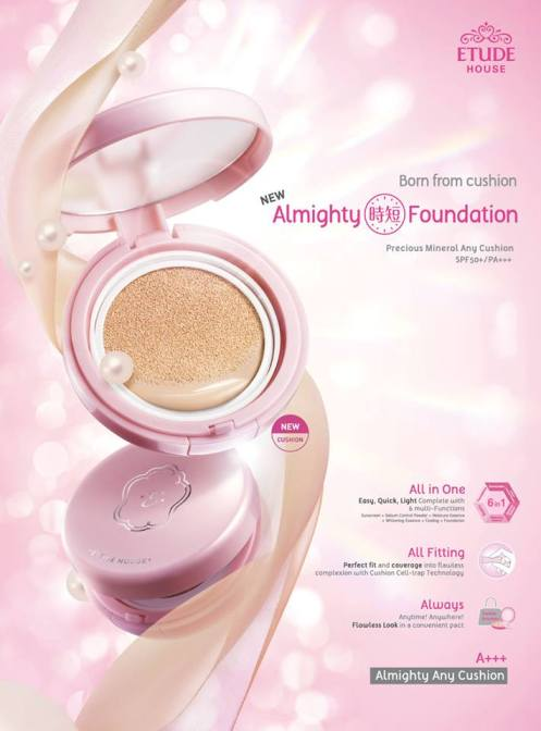 Etude House Any Cushion Foundation