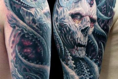 full sleeve tattoo 14