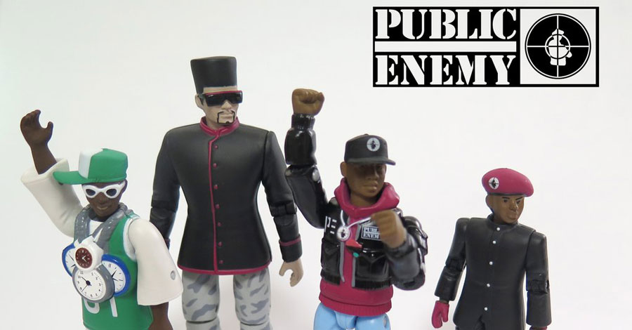 Believe the hype: These Public Enemy figures are awesome