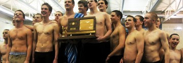 Boys' swim wins state for fifth time in six years
