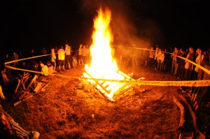Video: Homecoming Bonfire