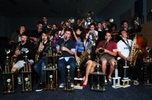 Blue Knights Opens For KU Jazz Band