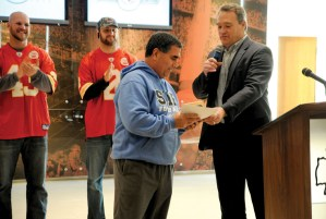 Coach Sherman Wins Coach of the Year Award