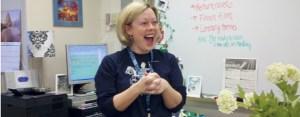 English Teacher is Queen 'Chick'