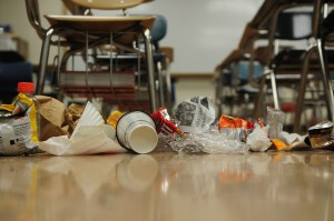 Editorial: Students Should Try to Keep the School Clean