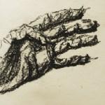 "Peter Morgan, ""Gesture Hand"""