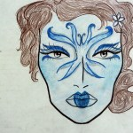 Make-up design for Major Fairies (A Midsummer Night's Dream)