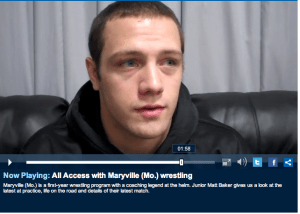 NCAA Video Blog Stars East Alumni