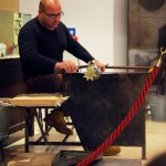 Students saw a glass-blowing demonstration in Venice, Italy. Photo by Molly Howland.