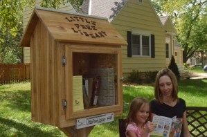Little Free Library Gains Community Attention