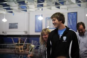 Gallery: Boys Swim vs. Shawnee Mission Northwest (Senior Night)