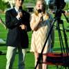 Anchors Morgan Twibell and Will Oakley hold pre-graduation interviews. Photo by Katie Knight
