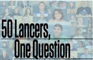 50 Lancers, One Question: What Do You Listen To On the Way to School?
