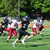 An East running back breaks down the field. Photo by Julia Poe