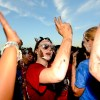 Young life members dance during the second half of Muck Fest. Photo by Maxx Lamb