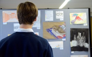 Student Art on Display Through Thursday