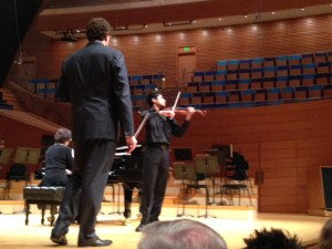 Junior Performs in Private Masterclass