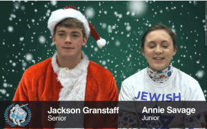 Daily Announcements: Fri. Dec. 13