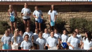 Lancers Participate In ALS Ice Bucket Challenge