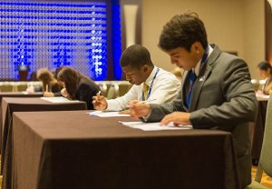 DECA Students Attend First Competition