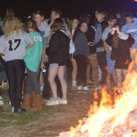 Gallery: Annual Homecoming Bonfire