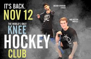Knee Hockey Club Starts Their Third Season