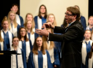 Soundslide: Shawnee Mission District High and Middle School choral festival