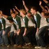 "Members of the boys Varsity Choir have fun dancing during their performance of ""Do You Love Me"".  Photo by Abby Blake"