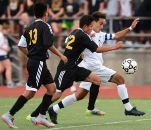 Gallery: Boys' Varsity Soccer vs. West