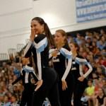 Senior Brooke Erickson dances during the Varisty Lancer Dancer routine.  Photo by Tess Iler