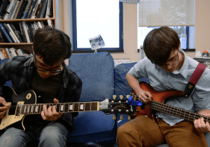 Blue Couch: Ian McFarlin and Sean Wolahan