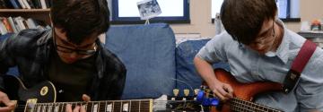 Blue Couch: Ian McFarlin and Sean Wolahan