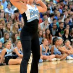 Junior Isabelle Cunningham performs in a jazz dance with the varsity Lancer Dancers. Photo by Maddie Smiley