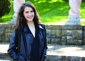 Freshman Model: Brigid Wentz