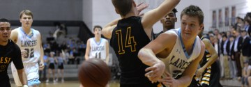 Gallery: Boys' Varsity Basketball versus Shawnee Mission West