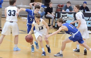 Gallery: Freshman Boys Basketball Game vs Rockhurst
