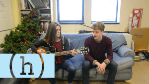 Blue Couch Session: Caroline Blubaugh and Sam Fay