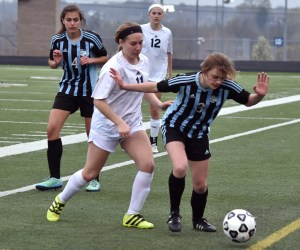 Gallery: Girls' JV Soccer vs. Blue Valley North