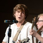 Seniors Issac Shmidt and Deegan Poores sing a Irish song together. Photo by CJ Manne