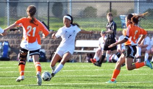 Gallery: Girls' C team soccer game vs. SMNW