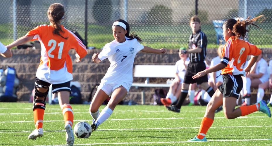 Gallery: Girls' C team soccer game vs. SMNW