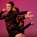 Junior Savanna Worthington dances in the opening number of the show. Photo by Maddie Smiley
