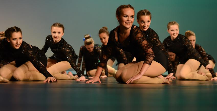Drill Team Team Holds Annual Spring Showcase