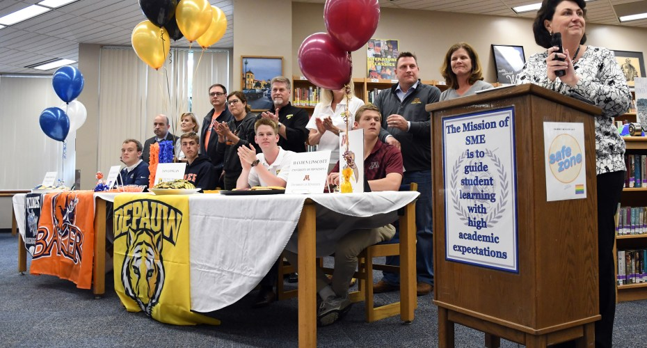 East Students Commit to Playing Sports in College